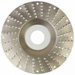 Disque-râpe pour meuleuse (Ø 115 x al. 22,2 mm), piqûre grosse 2,5mm de la marque Disque-râpe pour meuleuse (Ø 115 x al. 22,2 mm), piqûre grosse 2,5mm image 1 produit