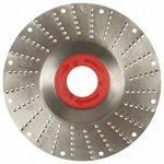 Disque-râpe pour meuleuse (Ø 115 x al. 22,2 mm), piqûre moyenne 2,0 mm de la marque Disque-râpe pour meuleuse (Ø 115 x al. 22,2 mm), piqûre moyenne 2,0 mm image 1 produit