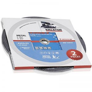 disque à tronçonner 355 mm TOP 3 image 0 produit