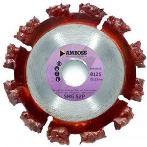 Disque à tronçonnerAmboss SMG 52P Premium - Pour racines, troncs, bois avec résidus, chemins de toit, asphalte - Liaisons de segments galvanisées de la marque Amboss image 0 produit