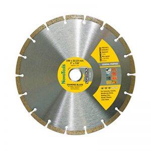 Disque à tronçonner diamant Segmented 230mm pour stone, granite, béton, acier béton, brique, la brique etc. de la marque NOVOTOOLS image 0 produit