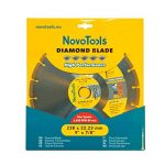Disque à tronçonner diamant Segmented 230mm pour stone, granite, béton, acier béton, brique, la brique etc. de la marque NOVOTOOLS image 1 produit
