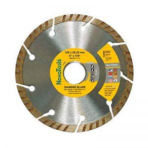 Disque à tronçonner diamant Turbo 125mm pour stone, granite, béton, acier béton, brique, la brique etc. de la marque NOVOTOOLS image 0 produit