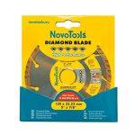 Disque à tronçonner diamant Turbo 125mm pour stone, granite, béton, acier béton, brique, la brique etc. de la marque NOVOTOOLS image 1 produit