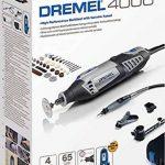 Dremel 4000-4/65 Outil rotatif multi-usage (175W) 1 coffret 4 adaptations et 65 accessoires EZ SpeedClic inclus de la marque Dremel image 2 produit