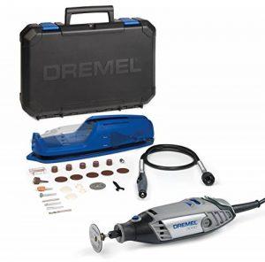 Dremel outil multifonction 3000-1/25 EZ (130 W, set d'accessoires 25 pièces, coffret) de la marque Dremel image 0 produit
