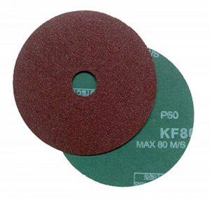 Falon Tech Lot de 20disques abrasifs en fibre pour meuleuse d'angle Grain 60 de la marque Falontech image 0 produit