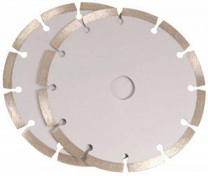 FERM Lame diamantée 150mm (2 pcs) - pour rainureuse de la marque Ferm image 0 produit