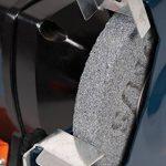 FERM Touret à meuler(sec & eau) 250W, Incl. 2 pierres à aiguiser de la marque Ferm image 3 produit