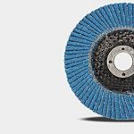 Flap Sanding Disques de meulage Grinder d'angle Wheels 100mmx16mm Grits 80 Blue 10pc / Set de la marque CaiMei Polish Tool image 2 produit
