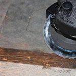 Flap Sanding Disques de meulage Grinder d'angle Wheels 100mmx16mm Grits 80 Blue 10pc / Set de la marque CaiMei Polish Tool image 3 produit