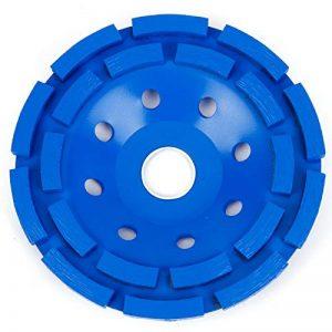 Heavy Duty béton Meule Diamant disque double rangée 180mm 17,8cm Bleu de la marque SurePromise-One-Stop-Solution-for-Sourcing image 0 produit