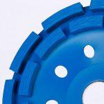Heavy Duty béton Meule Diamant disque double rangée 180mm 17,8cm Bleu de la marque SurePromise-One-Stop-Solution-for-Sourcing image 2 produit