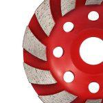 KKmoon Segment de Meule Diamant Disque, Meule Disque Abrasif Pour Béton Granit Maçonnerie Céramique Pierre Terrazzo Marbre ,20mm Diamètre du Trou de la marque KKmoon image 2 produit