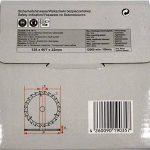 Lame de scie pour MEULEUSE 125mm pour bois Disque de coupe circulaire 125x22x60T TCT de la marque Blaukraft image 1 produit