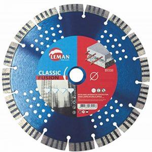 Leman 770230 Disque diamant à segments pour béton armé 230 x 22,23 mm Hauteur 10 mm de la marque Leman image 0 produit
