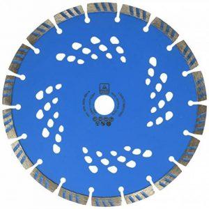 Leman 772304 Disque diamant à segments pour béton armé 230 x 22,23 mm Hauteur 7 mm de la marque Leman image 0 produit