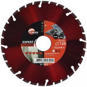 Leman 950125 Disque diamant brasé 125 x 45 x 1,8 x 2,0 mm pour coupe aciers de la marque Leman image 0 produit