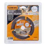 Leman SPEEDWOOD Lame carbure multifonction pour meuleuse d.115x22,23 z=3 Orange de la marque Leman image 1 produit