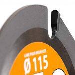 Leman SPEEDWOOD Lame carbure multifonction pour meuleuse d.115x22,23 z=3 Orange de la marque Leman image 2 produit