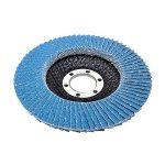 Lot de 10compartiments Disque 115mm Grain 40compartiments Disque abrasif ponçage Mop Assiettes Inox Disque à lamelles de la marque FD-Workstuff image 1 produit