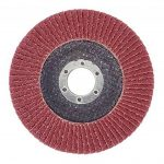 Lot de 10 compartiments Disques 125 mm Grain 120 compartiments schleifscheibe Marron ponçage Mop Assiettes de la marque FD-Workstuff image 2 produit