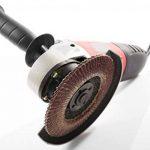 Lot de 10compartiments Disques 125mm Grain 80à lamelles Marron ponçage Mop Assiettes Disque abrasif à lamelles de la marque FD-Workstuff image 3 produit