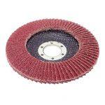 Lot de 10 disques abrasifs à lamelles Ø 125 mm K 40 (brun) ou marron ponçage Mop de la marque FD-Workstuff image 1 produit