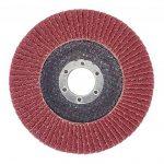Lot de 10 disques abrasifs à lamelles Ø 125 mm K 40 (brun) ou marron ponçage Mop de la marque FD-Workstuff image 2 produit