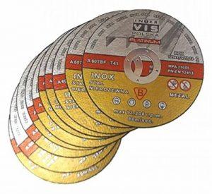 Lot de 10disques de découpe Metflex pour acier - 125 x 1,0mm - T41 - Platine de la marque Metflex image 0 produit