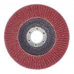 Lot de 10disques de ponçage à lamelles Ø 125mm Grain 60Marron de la marque FD-Workstuff image 1 produit