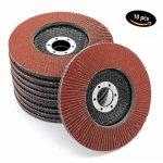Lot de 10disques de ponçage à lamelles Ø 125mm Grain 60Marron de la marque FD-Workstuff image 4 produit