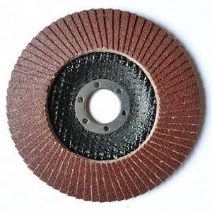 Lot de 2 Lot de disques abrasifs à lamelles 125 mm P40 Pour meuleuse d'angle Grain 40 de la marque Mastiff image 0 produit
