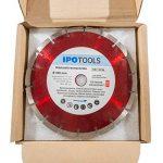 Lot de 3 disques à tronçonner diamantés 230 pour béton 10 mm de la marque IPOTOOLS image 2 produit