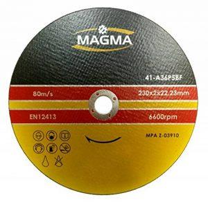Lot de 5Disque à tronçonner pour acier 230x 2,0mm A36S BF T41 de la marque Profiflex image 0 produit