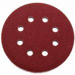 Lot de 50 disques abrasifs Papier abrasif Ø 125 mm grain 80, de détention Ponceuse excentrique de 8 trous de la marque FD-Workstuff image 1 produit