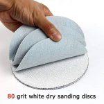 Maslin Lot de 30 disques abrasifs à crochet et boucle pour ponçage à sec et mouillé/sec de la marque Maslin image 2 produit