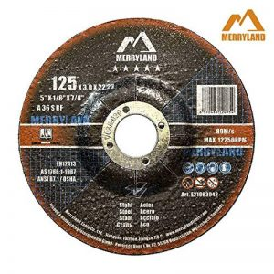 Merryland 125 X 1,0/3,0/6,0 Expert-line Disque à Tronçonner/Ébarber Acier Inoxydable Métal 25PCS/10PCS de la marque Merryland image 0 produit