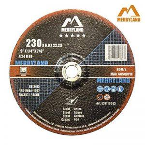 Merryland 230 X 1,9/3,0/6,0 Expert-line Disque à Tronçonner/Ébarber Acier Inoxydable Métal 25PCS/10PCS de la marque Merryland image 0 produit
