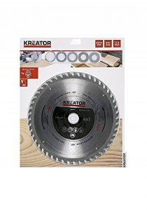 Mistral Kreator/varo krt021201Lame Acier 210x 2,6mm Trou 30mm 48denti Disque Découpe Bois Scie circulaire à onglet 5riduzioni de la marque MISTRAL image 0 produit