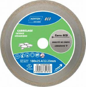Norton Disque diamant carrelage à l'eau Carro Eco 180 x 25,4 mm de la marque Norton image 0 produit