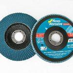 NOVOABRASIVE Extreme Zirconium Discos à Láminas 125 mm Lot De 10 Pièces de la marque NOVOABRASIVE image 1 produit