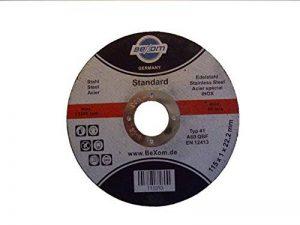 Olbrich-Industriebedarf - Lot de 10 disques à tronçonner 115x 1mm en inox Pour l'acier inoxydable, l'acier, le métal et le fer de la marque Olbrich-Industriebedarf image 0 produit
