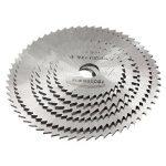 Origlam - 6 lames pour scie circulaire - Disques de coupe - Coupe de bois - Outil rotatif pour perceuses Dremel - Mandrin rotatif de la marque OriGlam image 4 produit