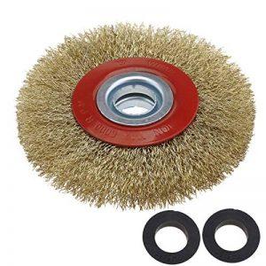 OTOTEC Silverline Roue de Fil de Brosse de Nettoyage pour Acier Circulaire pour Touret à meuler 12,7cm/15,2cm/8, 125mm de la marque OTOTEC image 0 produit