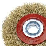 OTOTEC Silverline Roue de Fil de Brosse de Nettoyage pour Acier Circulaire pour Touret à meuler 12,7cm/15,2cm/8, 125mm de la marque OTOTEC image 1 produit