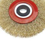 OTOTEC Silverline Roue de Fil de Brosse de Nettoyage pour Acier Circulaire pour Touret à meuler 12,7cm/15,2cm/8, 125mm de la marque OTOTEC image 2 produit
