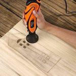 Outil Rotatif Electrique, Tacklife Outil de Rotatif multifonction 135W /Sculpter/Découper/Polir/Contrôle de Profondeur /80 Accessoires/Conception Ergonomique RTD35ACL de la marque TACKLIFE image 3 produit