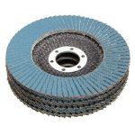 """PEALO Lot de 10 x disques à lamelles, Meuleuses d'angle à Disque à poncer abrasif Grain 80, 115 mm - 4 1/2"""""""" de la marque PEALO image 3 produit"""