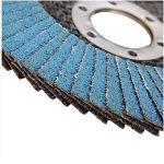 PEALO Lot de 10 x disques à lamelles, Meuleuses d'angle à poncer à Grain 40 mm, 115 mm de la marque PEALO image 3 produit